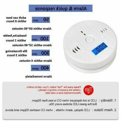 Carbon Monoxide Smoke Warning
