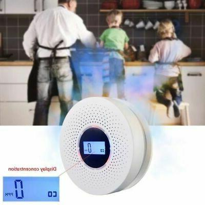 Carbon Monoxide and Smoke with Voice Warning