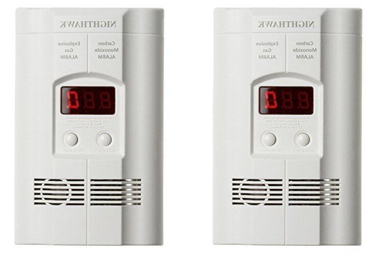 carbon monoxide gas alarm