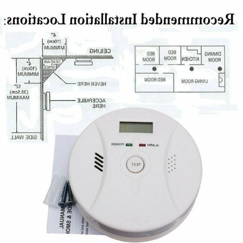 Carbon Detector Home Fire Sensor