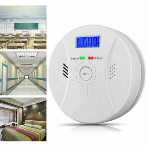 CO Smoke Carbon Monoxide Smoke Detector Warn Sensor
