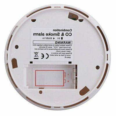 CO Smoke Carbon Monoxide Detector Fire Warn Sensor
