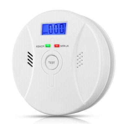 co carbon monoxide detector smoke fire alarm