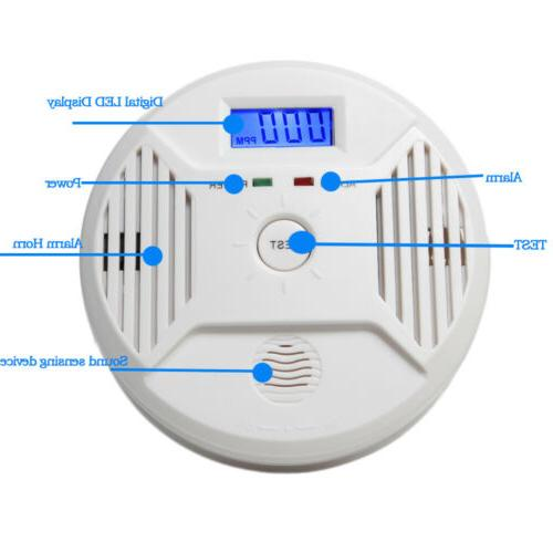 Combination Smoke Battery CO & Smoke Detector