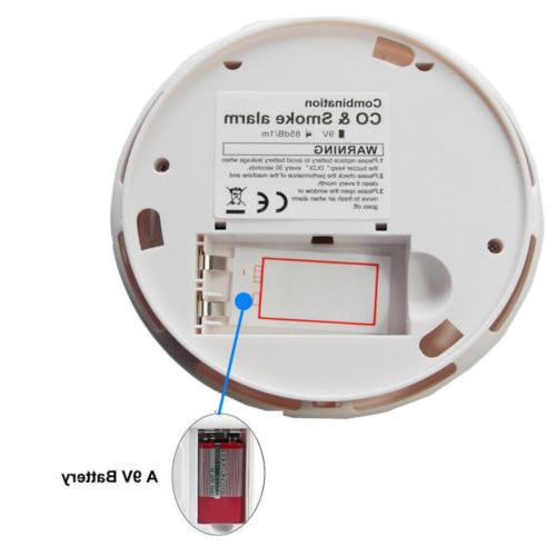 Combination Monoxide and Smoke Alarm CO