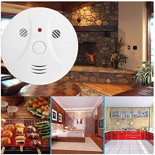 Smoke Alarm for Bedroom Operated