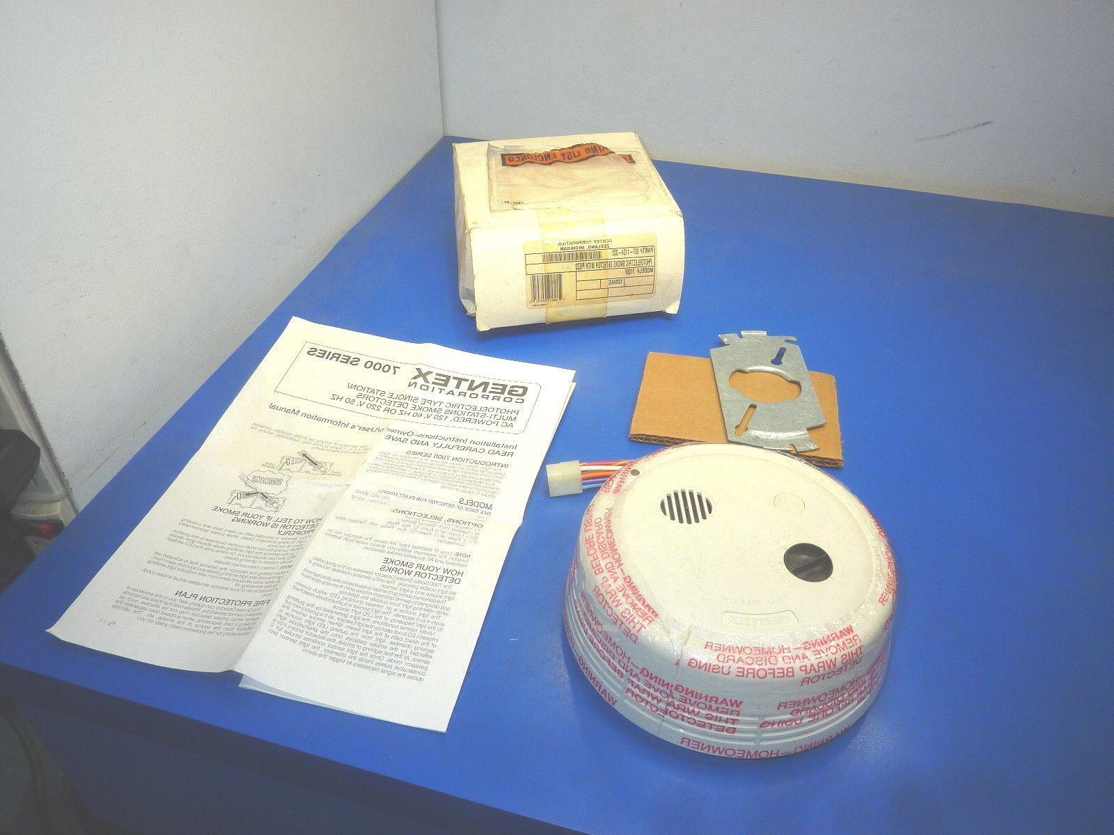 corporation 907 1104 002 photoelectric smoke detector