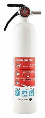 """First Alert FE1A10GR Fire Extinguisher, 8.8"""", White"""