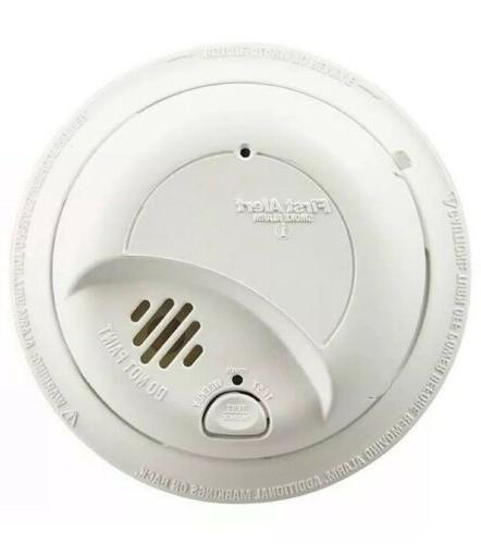 First AC Powered Smoke Alarm