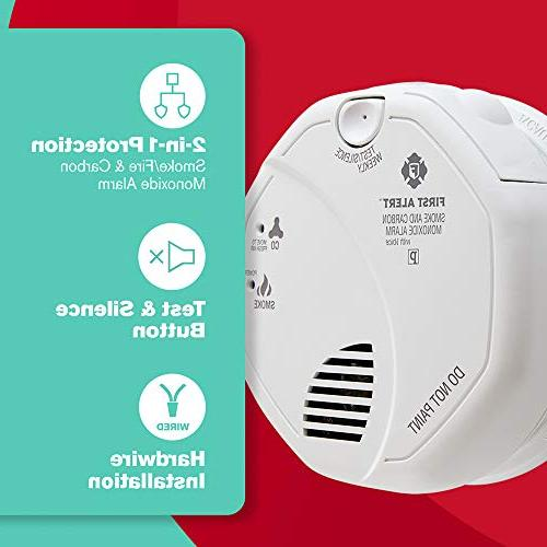 First Alert SC7010BV Hardwired and Monoxide