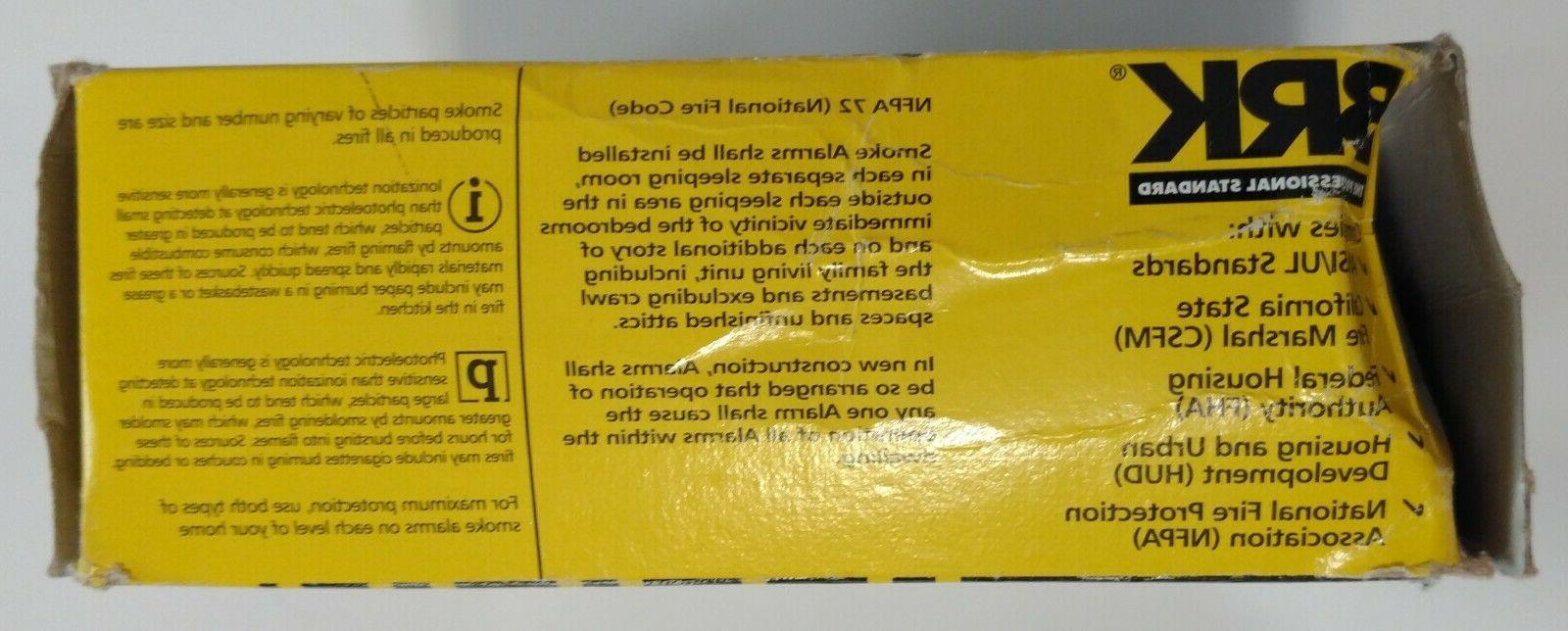 BRK First Carbon Monoxide & Smoke Alarm AC Power Batterybackup