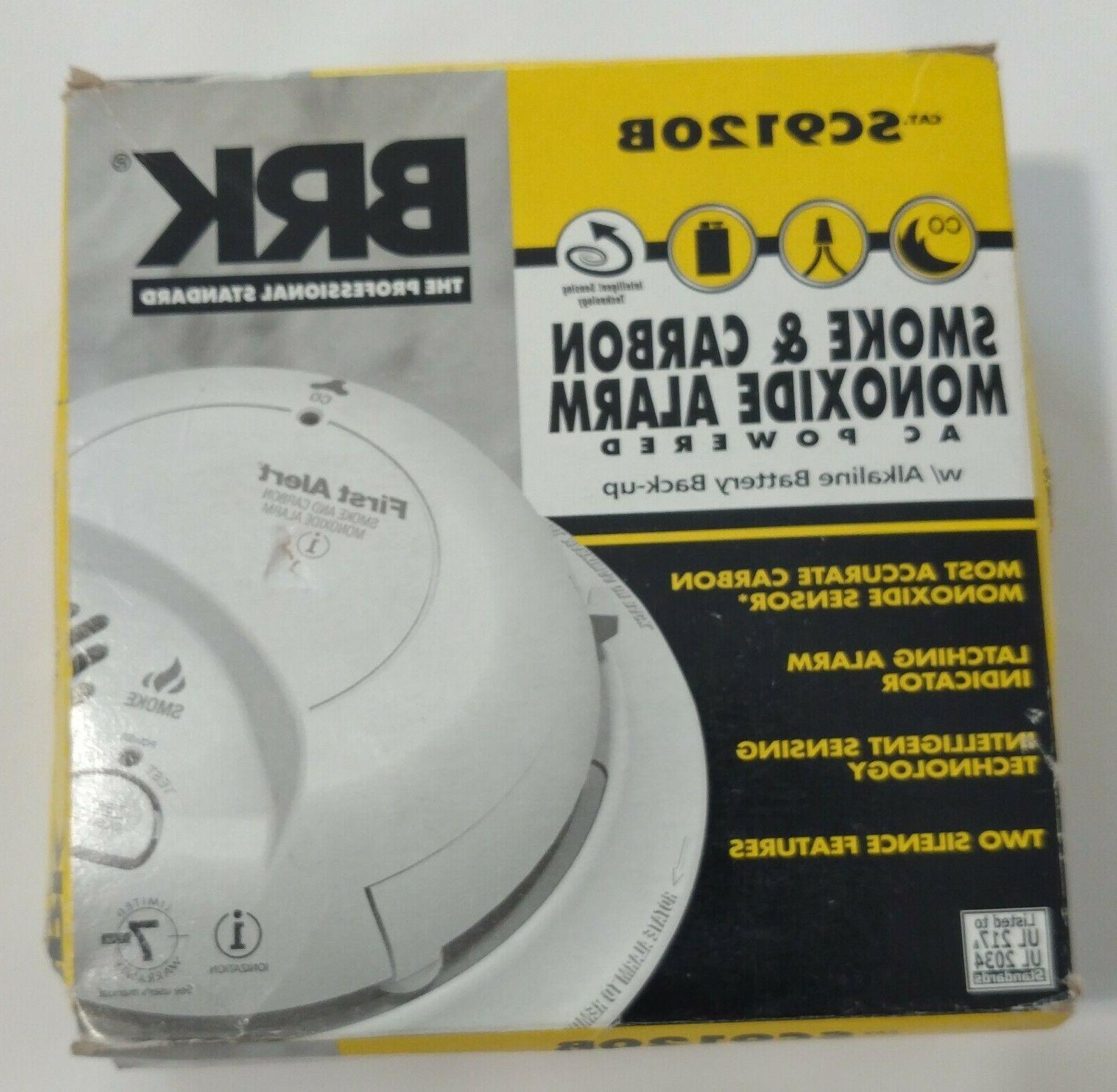 first alert sc9120b carbon monoxide and smoke