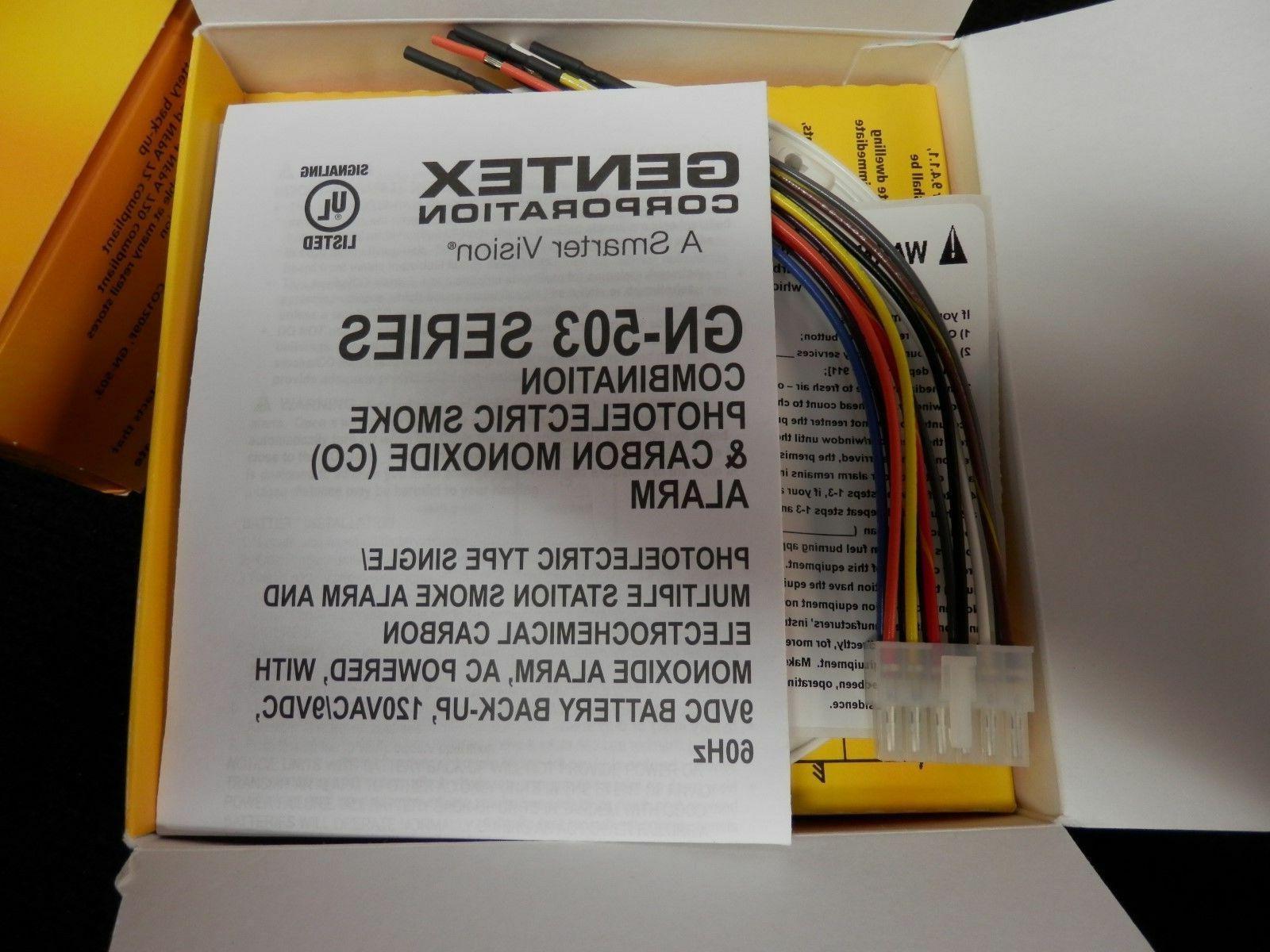 Gentex GN-503F Monoxide CO Combo 120V