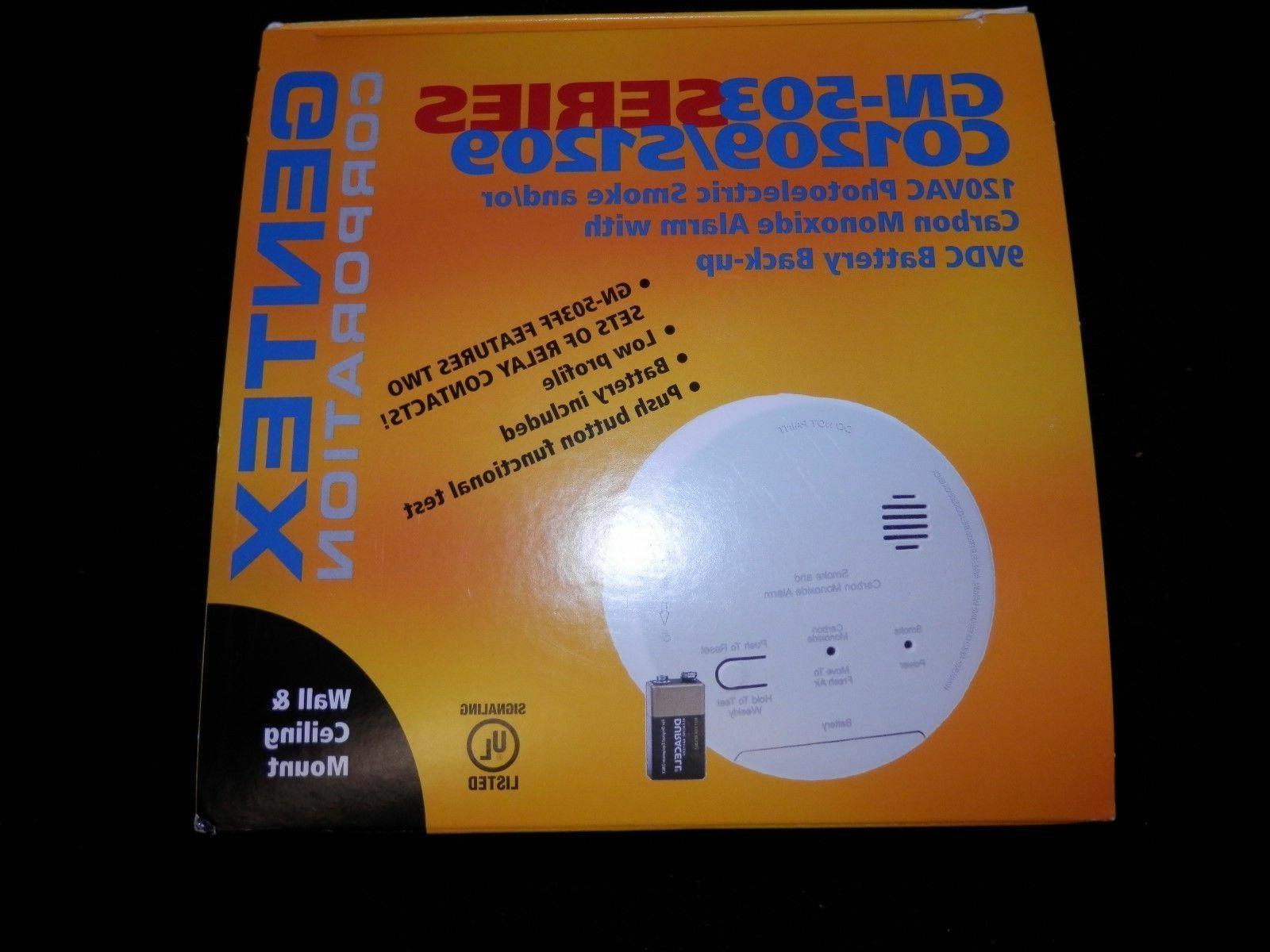 gn 503f smoke carbon monoxide co detector