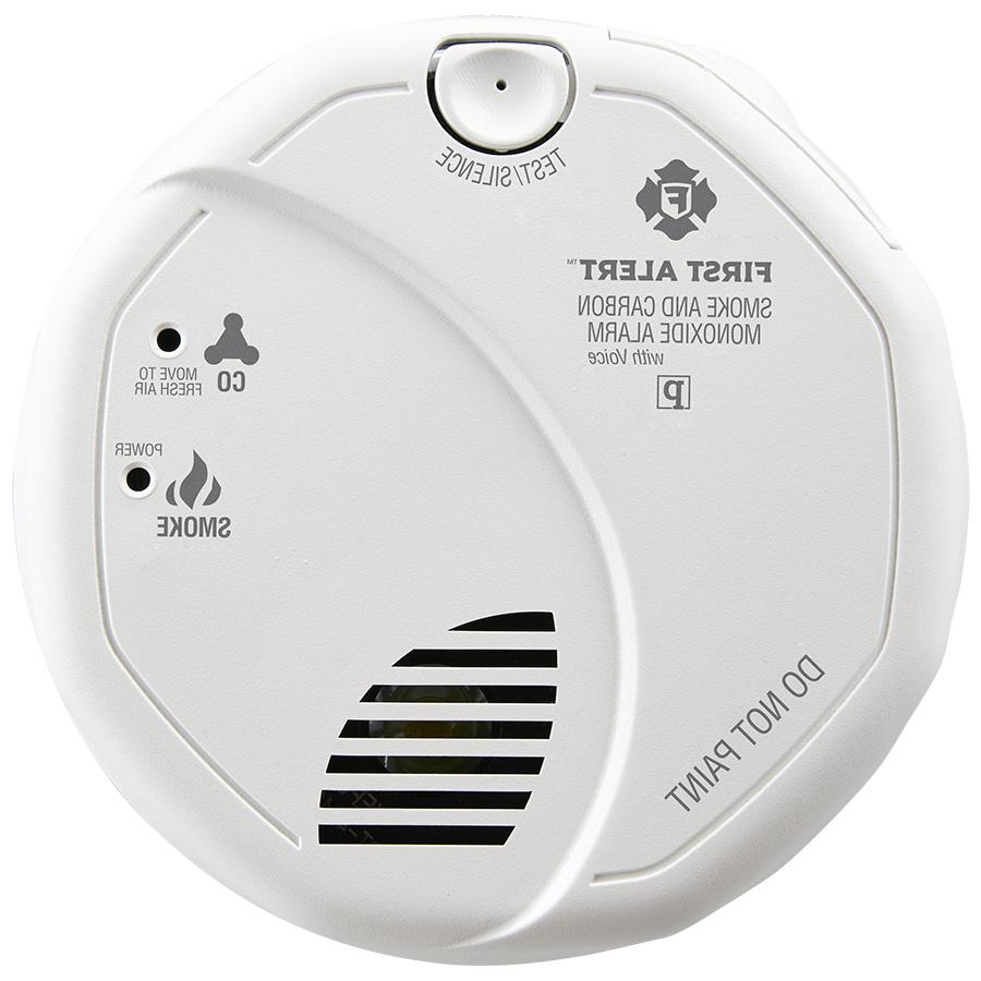 hardwired talking photoelectric smoke and co detector