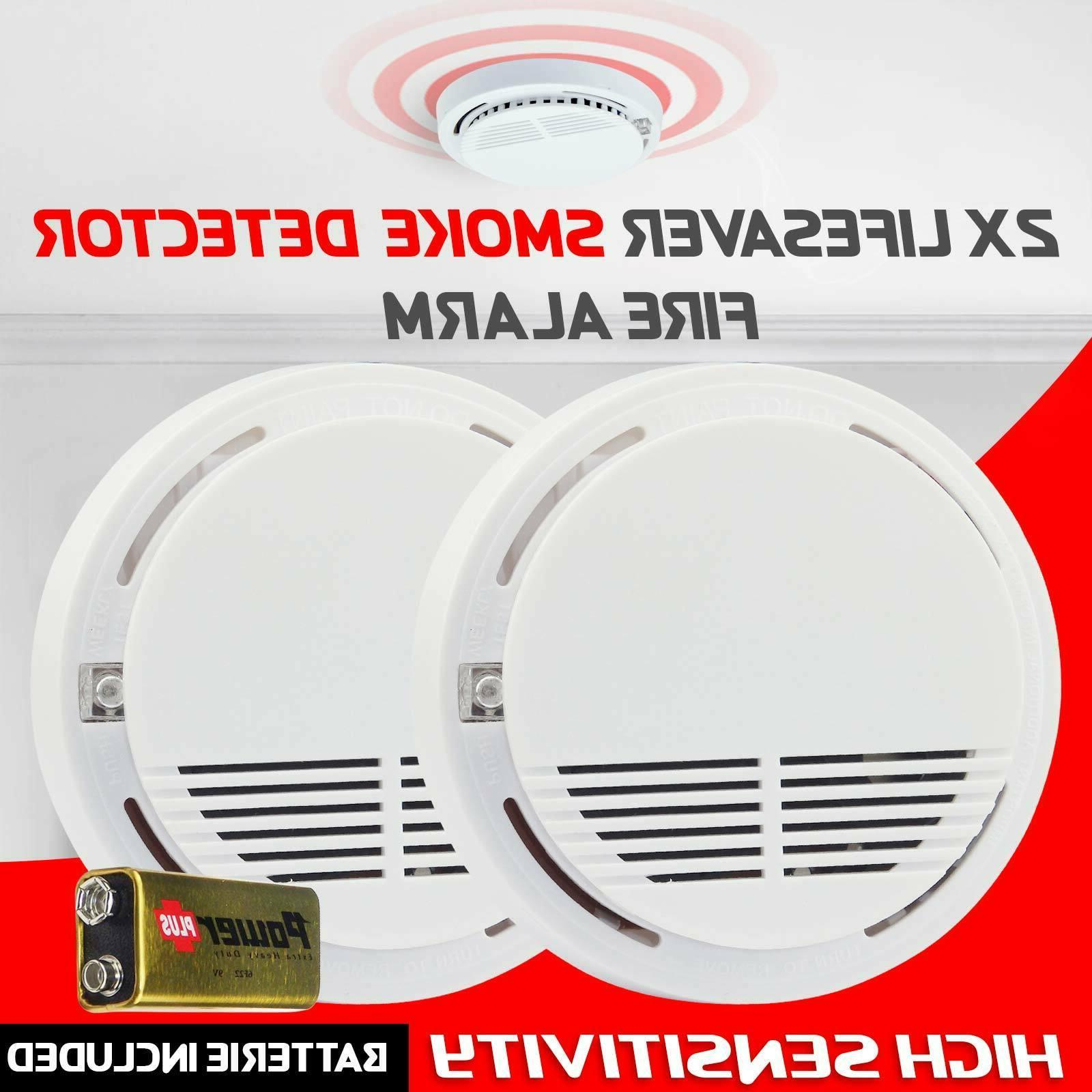 High Home Detector Alarm Battery Operated System