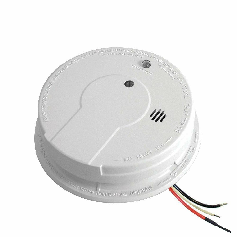 Kidde i12040 Hardwired Smoke Alarm with Battery Backup and S