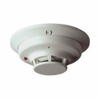 SYSTEM SENSOR 2W-B Smoke Alarm, 12/24 VDC, 2-Wire, w/Base