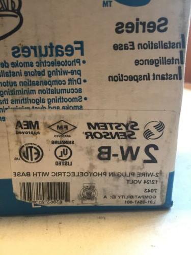 System 2WB 2-wire w/ base smoke NEW!!