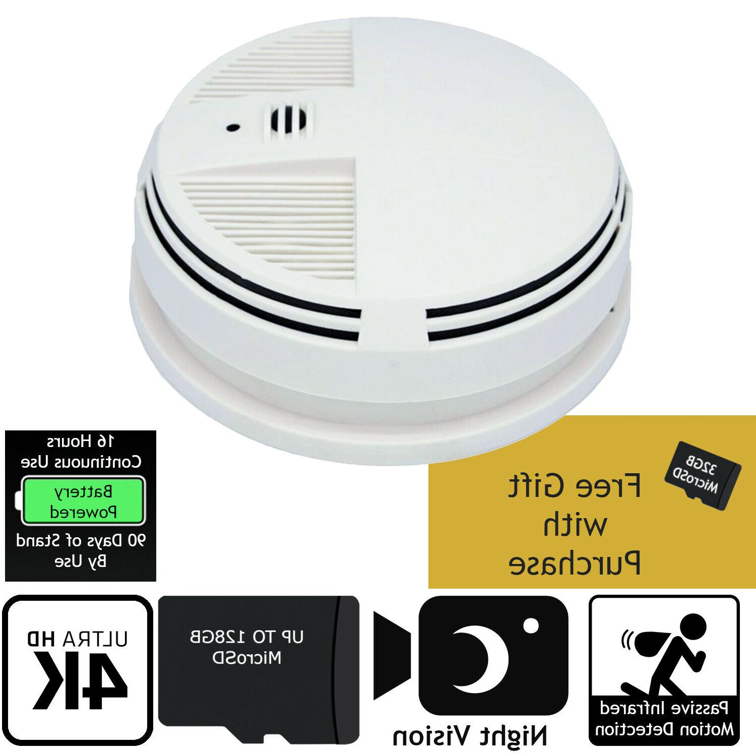 indoor home surveillance dvr smoke detector hd