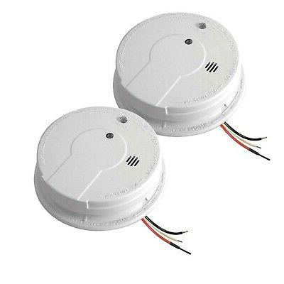 Kidde 120-Volt Inter-Connectable Smoke Alarm with Battery Ba