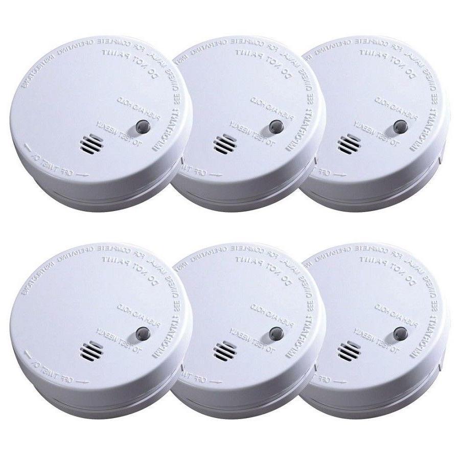 ionization smoke alarm battery operated sensor home
