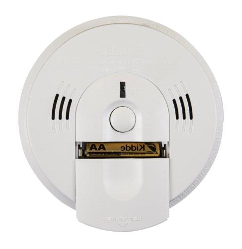 Kidde KN-COSM-IBA Hardwire Smoke/Carbon Battery Backup Voice Warning, Interconnectable