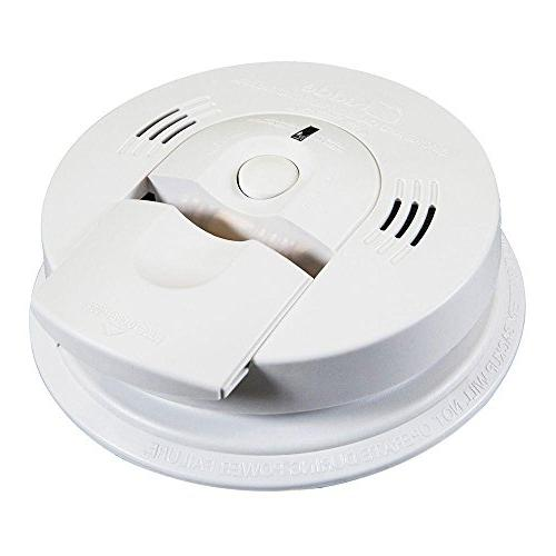 Kidde Alarm Battery Operated Combination Smoke Carbon Alarm
