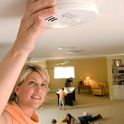 Kidde Intelligent Alarm Battery Operated Smoke & Carbon Monoxide Alarm