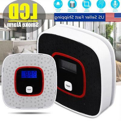 lcd co carbon monoxide gas alarm sensor