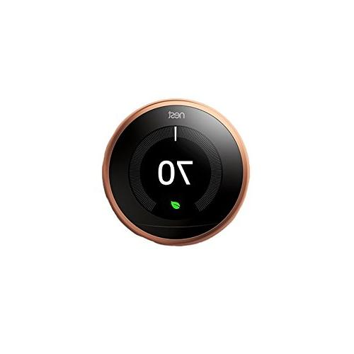 learning thermostat 3rd generation wifi