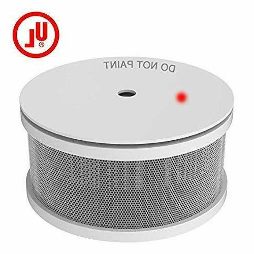 mini compact photoelectric smoke detector built in
