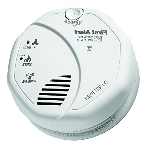 First Alert 2-in-1 Z-Wave Smoke Carbon Alarm 2 Pack