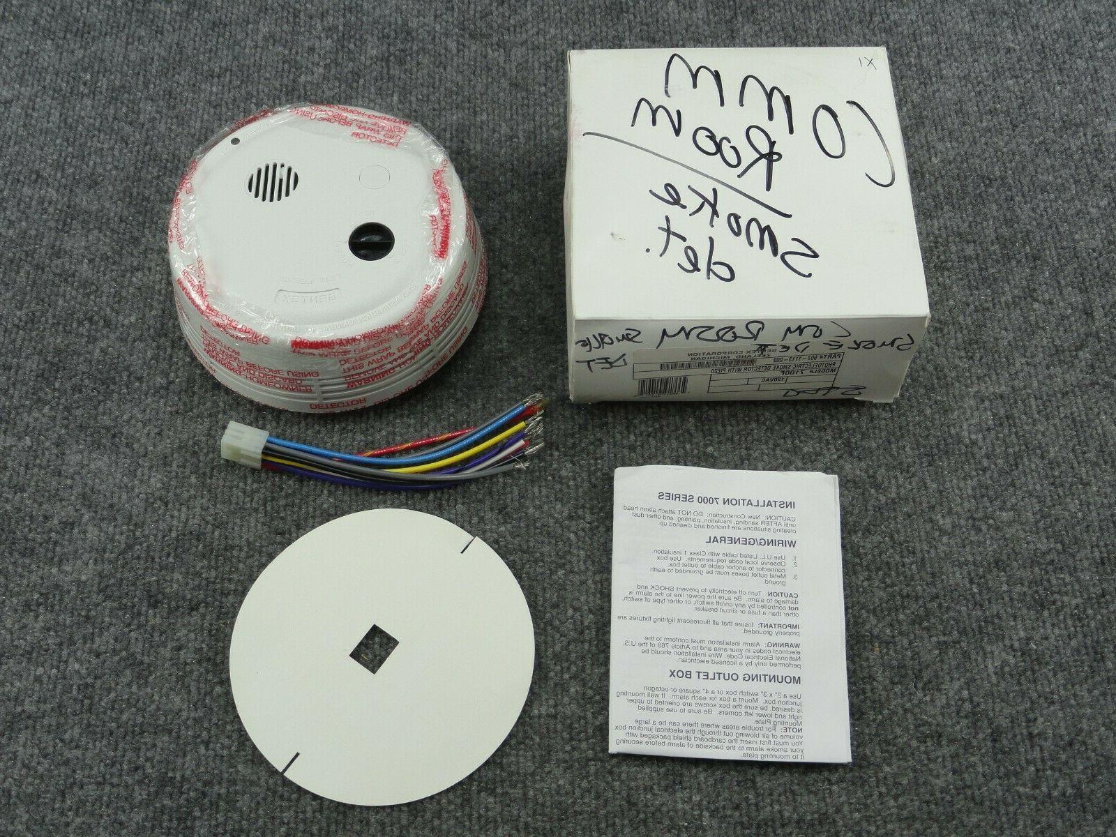 new 907 1113 002 photoelectric smoke detector