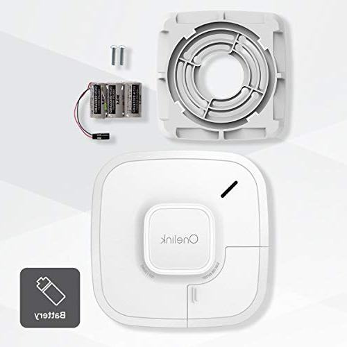 Onelink Detector Carbon Monoxide | Battery Powered, Works with Alexa