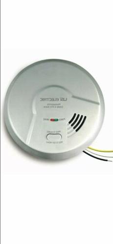 Photoelectric Sensor Hardwired Flame and Smoke Detector 10-Y