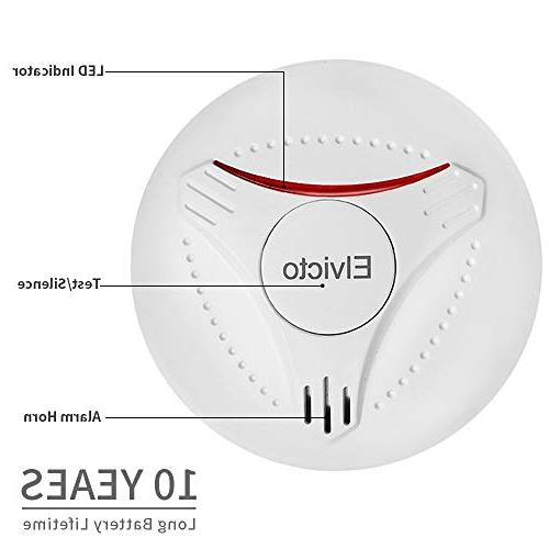 Elvicto Smoke Year Alarm for Home
