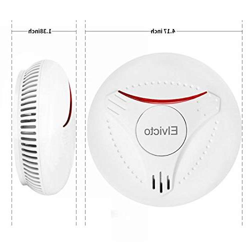 Elvicto Smoke 10 Year Fire Alarm for Home