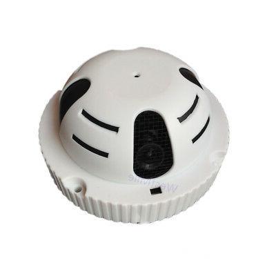 poe ip camera smoke detector 720p mini