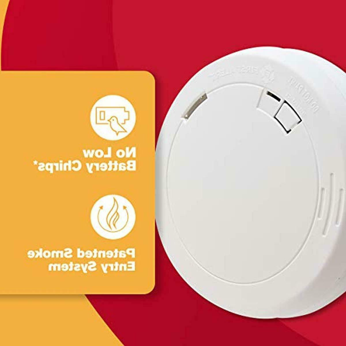 First Alert PR710 Photoelectric Smoke Alarm 10-Year Sealed Battery