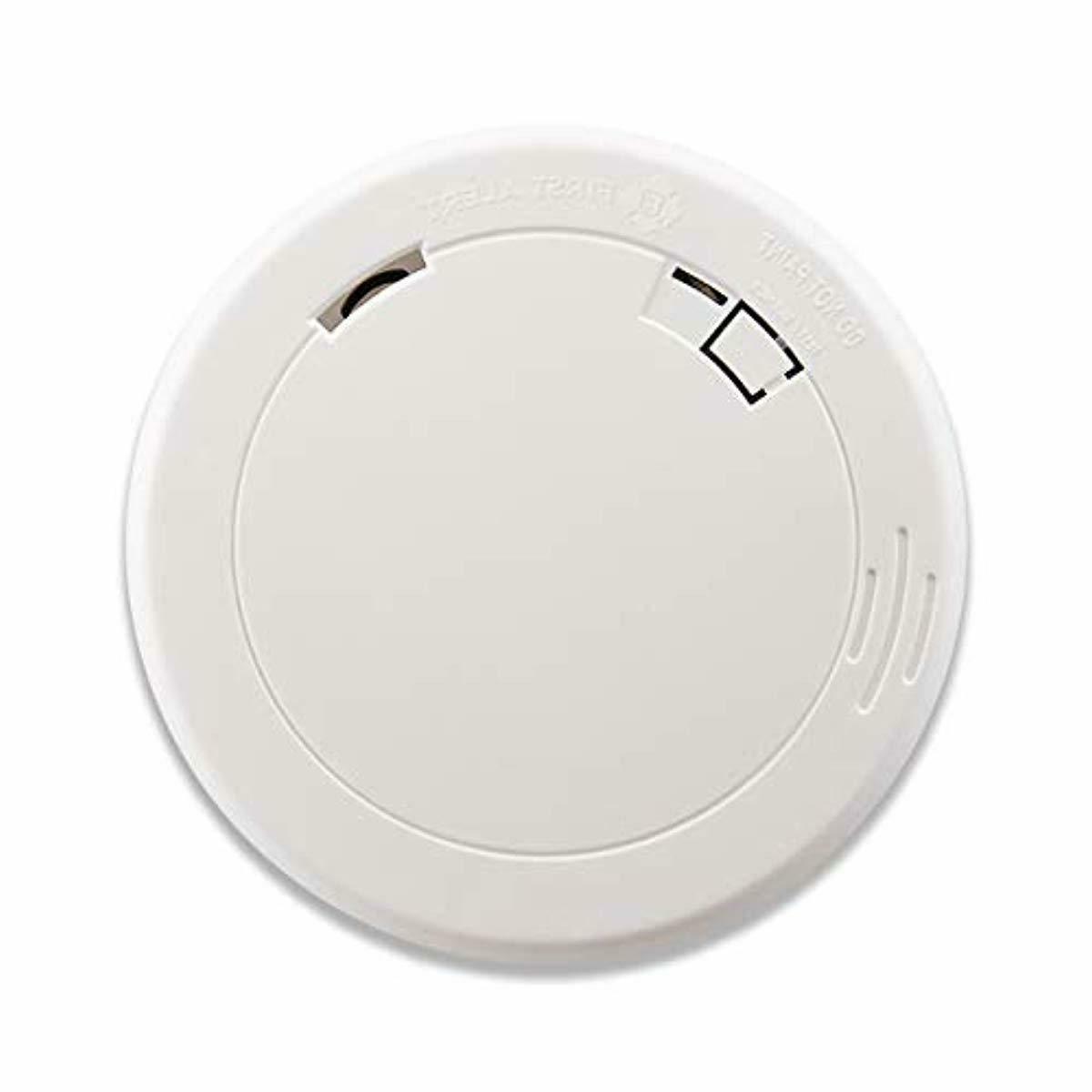 pr710 slim photoelectric smoke alarm with 10
