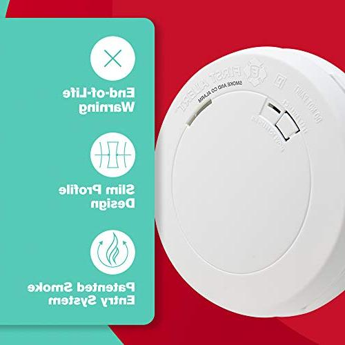 First Alert Battery-Operated Smoke and Carbon Monoxide