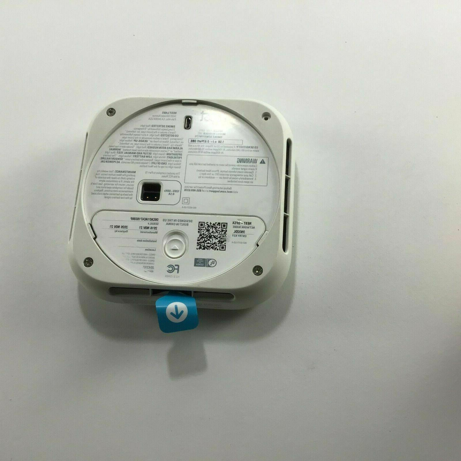 Nest Smart Smoke and Monoxide Alarms