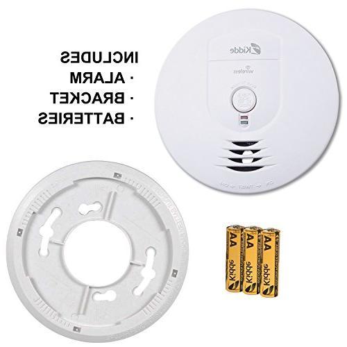 Kidde Wireless Battery-Operated Smoke Alarm