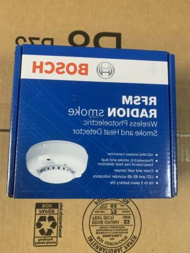 rfsm radion smoke and heat detector wireless