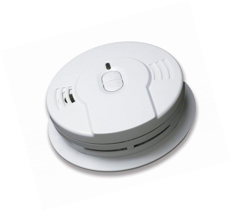 sealed lithium battery power smoke detector alarm