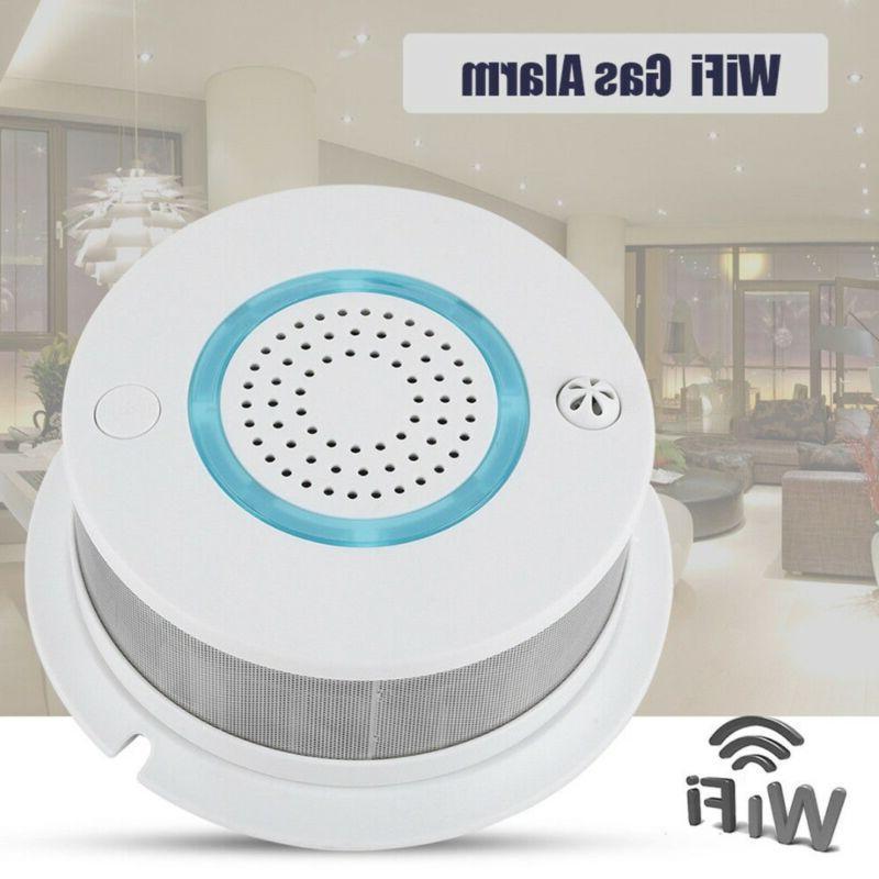 Smart Wireless WIFI Fire Smoke Sensor