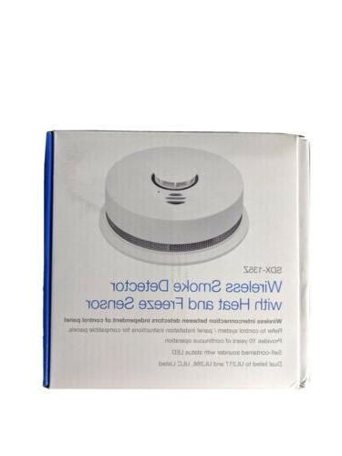 security sdx 135z wireless smoke detector w