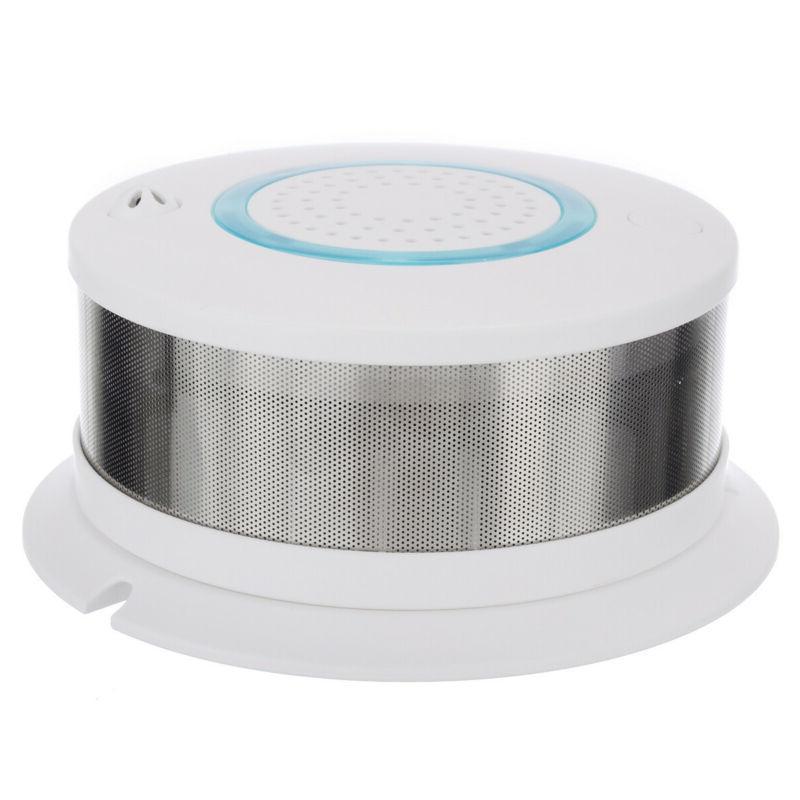 Smart Fire Smoke Sensor Security Alarm