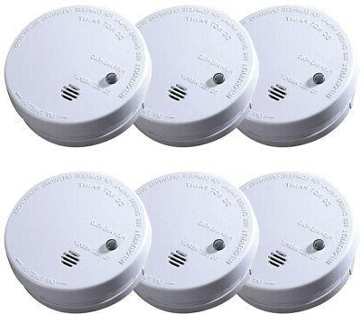 smoke alarm detector ionization sensor battery operated